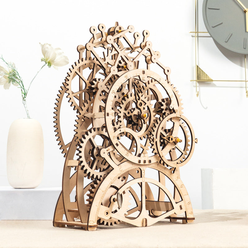 Pendulum Clock LK501 Mechanical Gears Kit