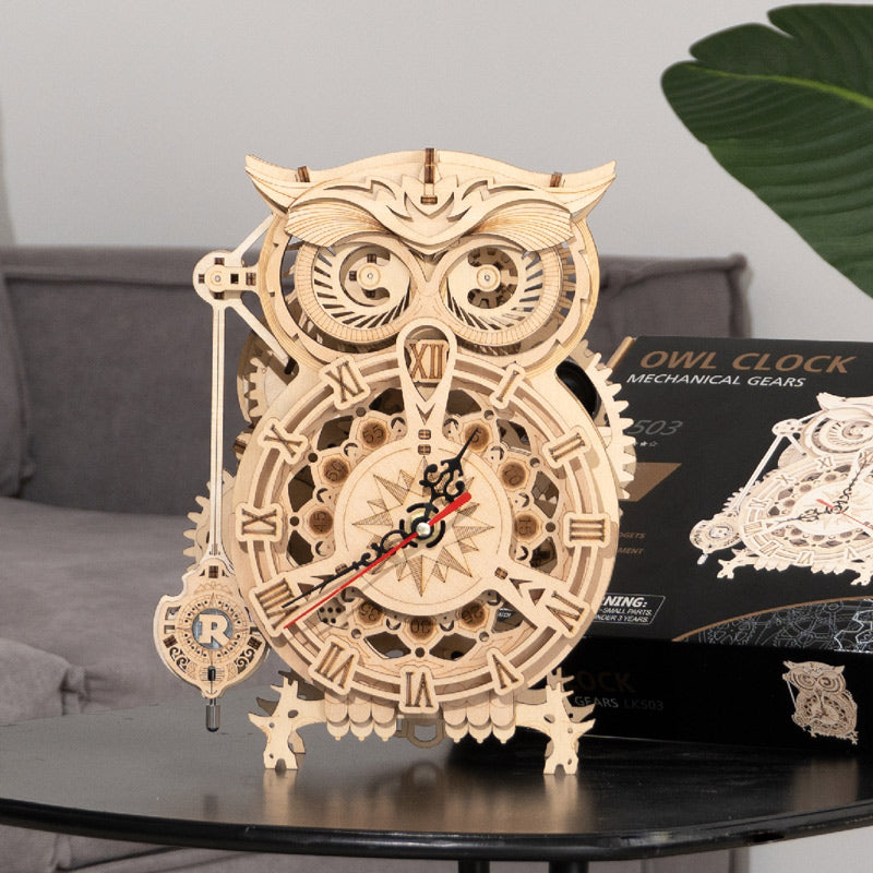 Owl Clock LK503 Battery Mechanical Gears Kit