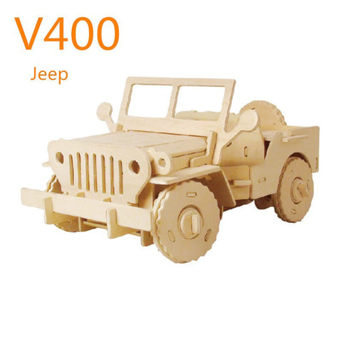 R/C Vehicles-Military Jeep V400