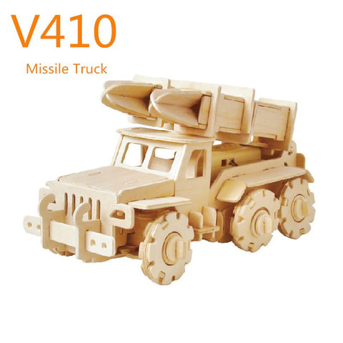 R/C Vehicles-Military Missile Truck V410