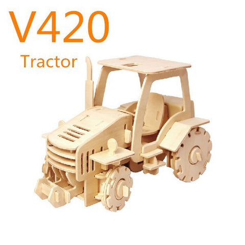 R/C Vehicles-Construction Tractor V420