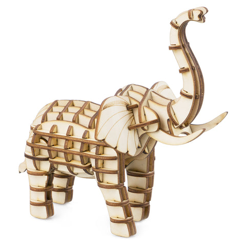 Modern 3D Wooden PUzzle-Wild Animals TG203 Elephant