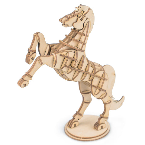 Modern 3D Wooden Puzzle-Farm Animals TG231 Horse