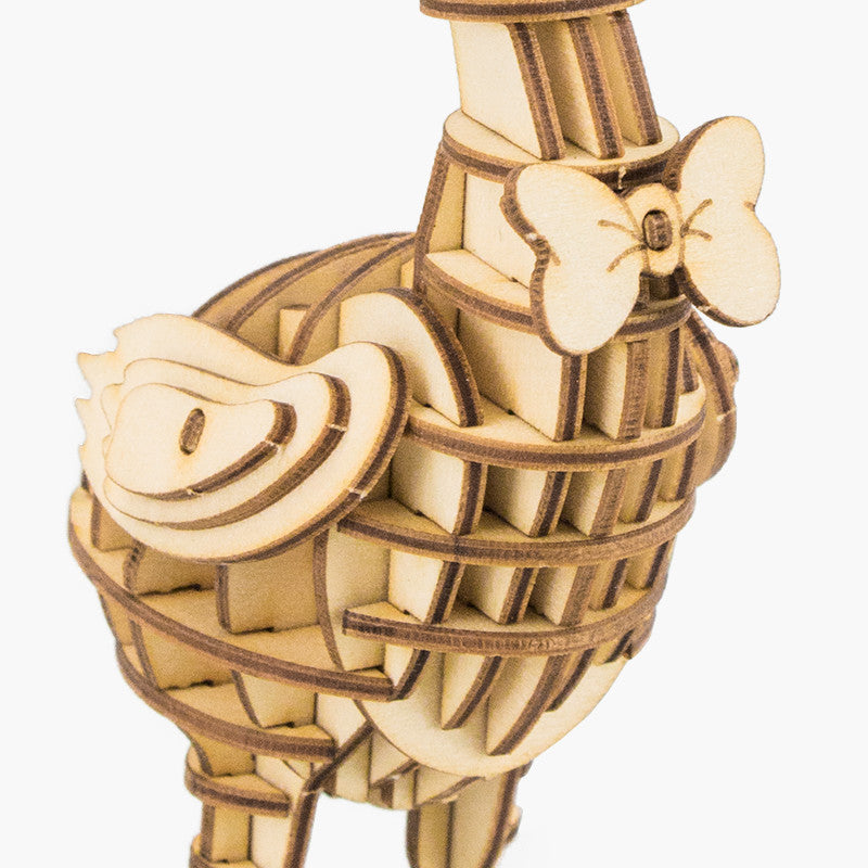 Modern 3D Wooden Puzzle-Farm Animals TG232 Goose