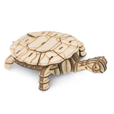 Modern 3D Wooden Puzzle-Sea animals TG275 Turtle