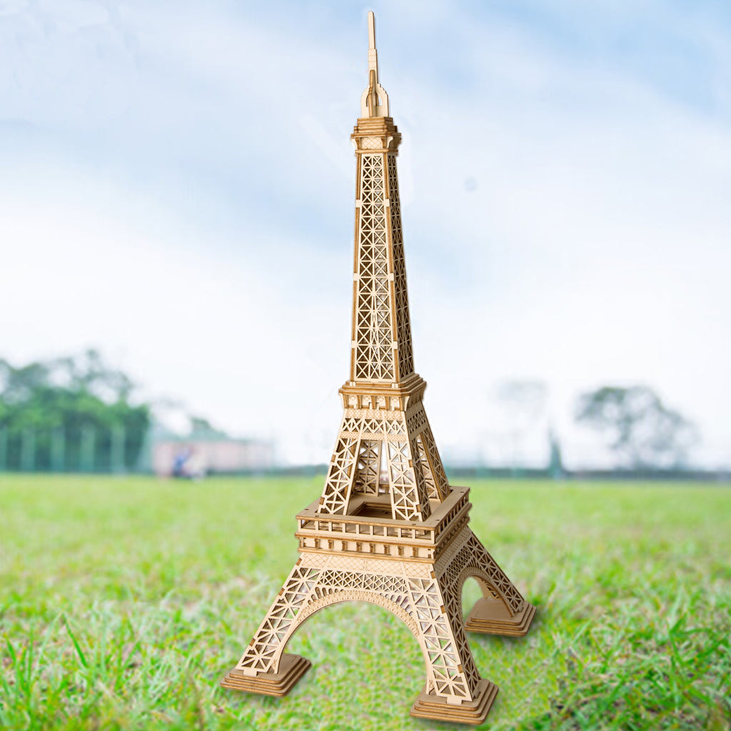 Eiffel Tower Modern 3D Wooden Puzzle