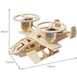 Solar Energy Drived - Natural Wooden Aircrafts - Samson P350