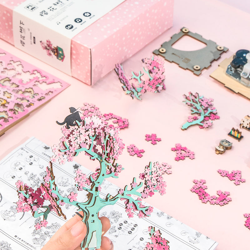 Cherry Blossom Tree AM409 -DIY Music box