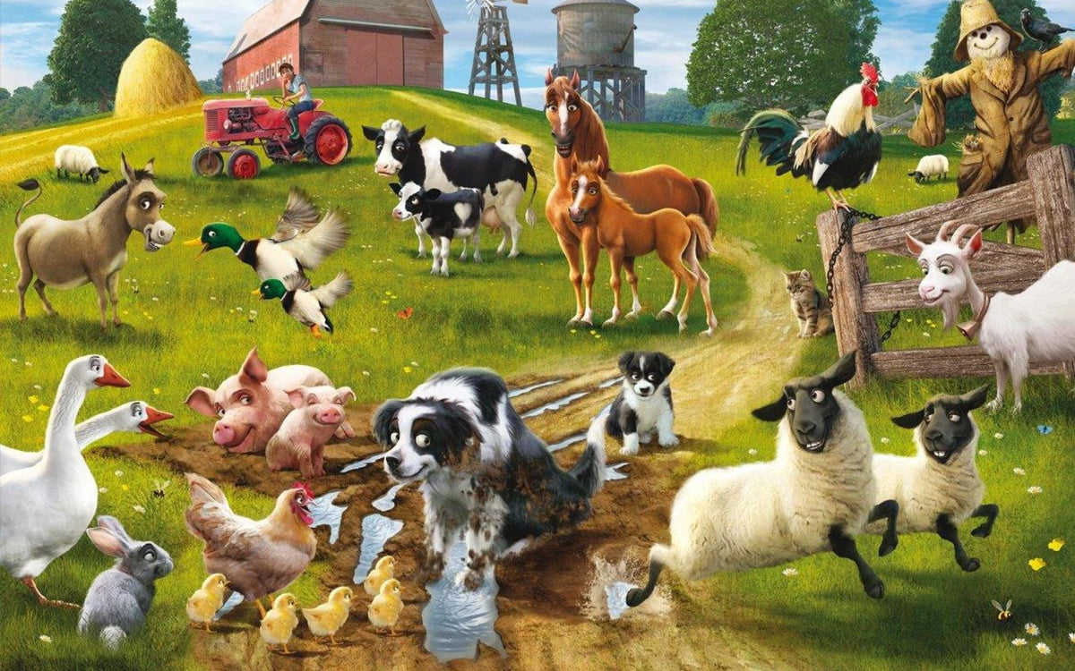 Shop for farmers, love animals, cow, cat, pig, chicken, goat, horse ...