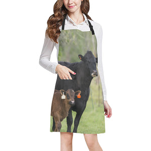 cow All Over Print Apron 12