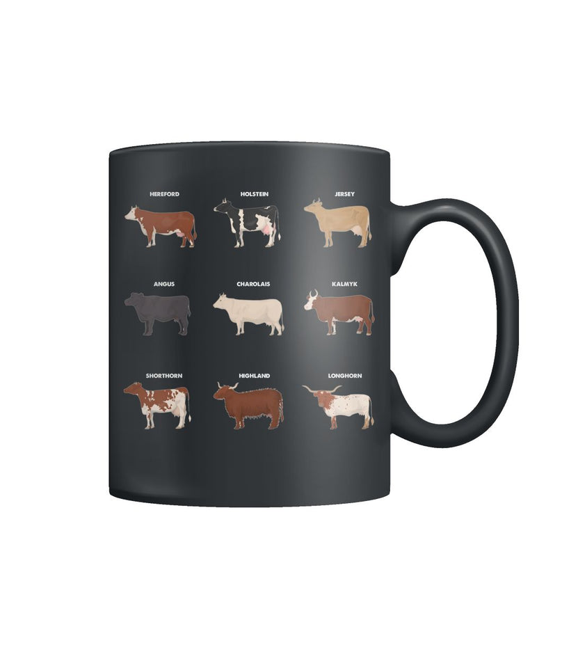 Breeds of Cattle - Mug