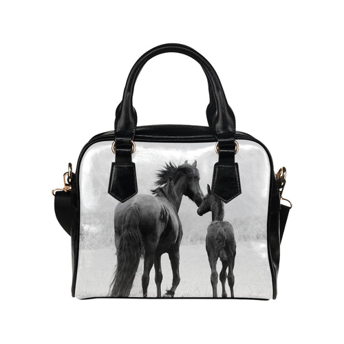 Horse 05 Shoulder Handbag (Model 1634)