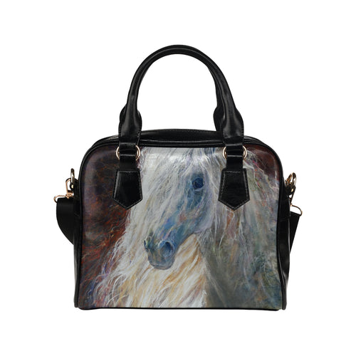 Horse 04 Shoulder Handbag (Model 1634)