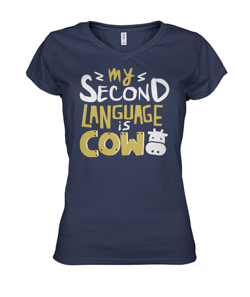 My second language is cow