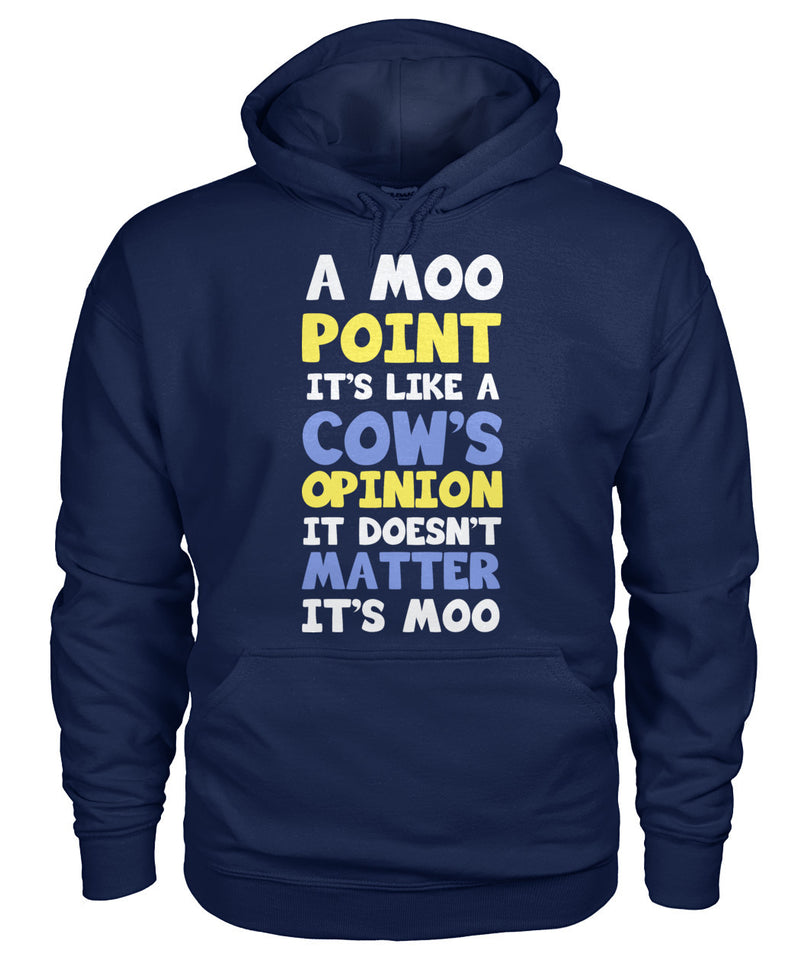 A moo point it's like a cow's - Barnsmile.com-Barnsmile.com-shirt, tees, clothings, accessories, shoes, home decor