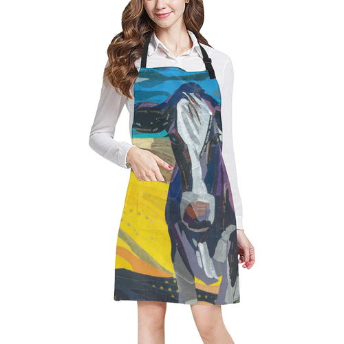 cow All Over Print Apron 22