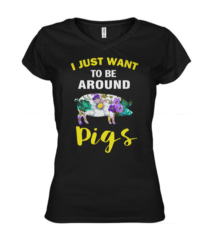 I just want to be around pigs