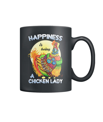 Happiness is being a chicken lady