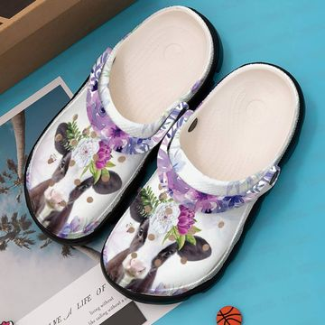 Daisy Cow Croc Clog Unisex Fashion Style For Women, Men
