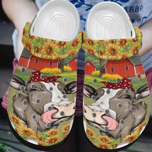 Cow Croc Clog Unisex Fashion Style For Women, Men Cow Croc Clog Unisex Fashion Style For Women, Men - Vegamart.com