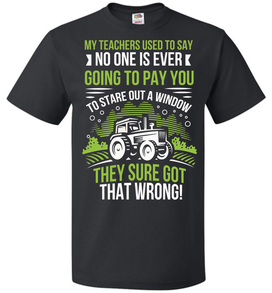 My teachers used to say ... - Barnsmile.com-Barnsmile.com-shirt, tees, clothings, accessories, shoes, home decor