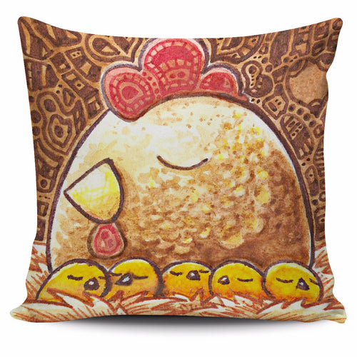 Set animal chicken pillow cover - Barnsmile.com-Barnsmile.com-shirt, tees, clothings, accessories, shoes, home decor