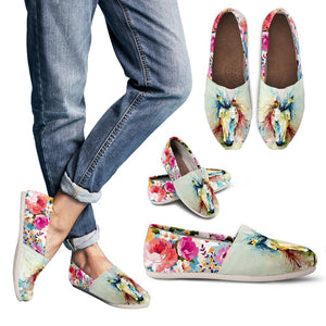 Women's Casual Shoes - Horse 7