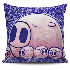 Set animal pig pillow cover