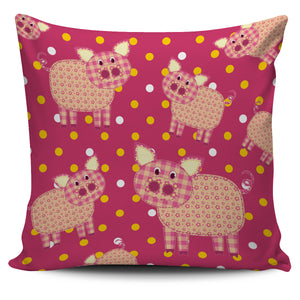 Pig pink - pillow cover