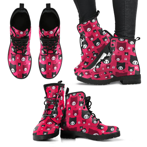 Pattern-pig- boots