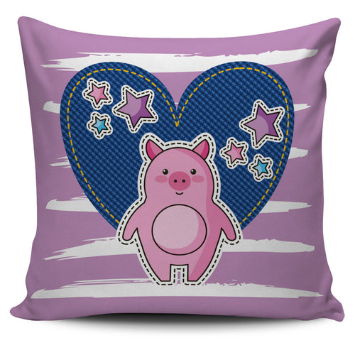 Pig heart - pillow covers