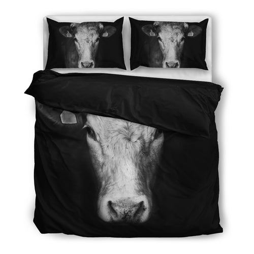 Black & White-Cow-Bedding Set