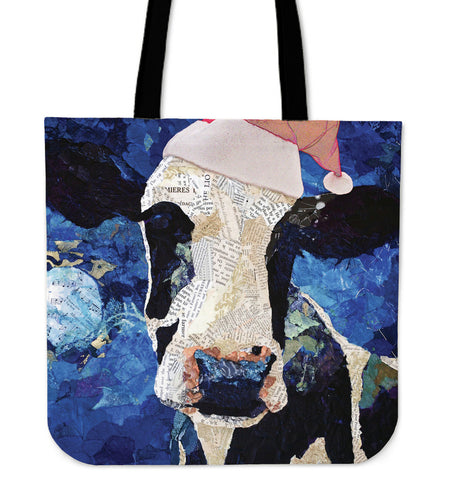 Tote Bag -  Cow painting style 11