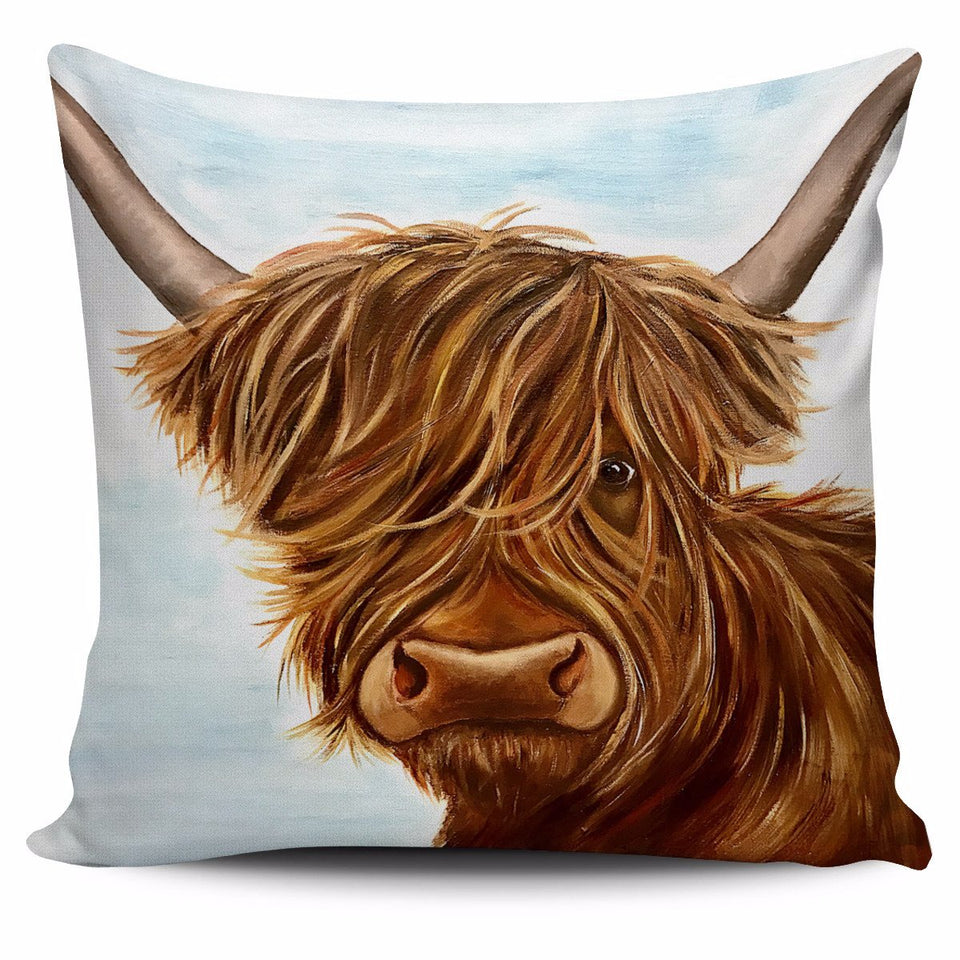 Highland cow painting-p3
