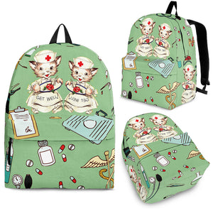 CAT NURSE BACKPACK 2