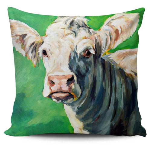 Pillow Cover - cow painting style 03