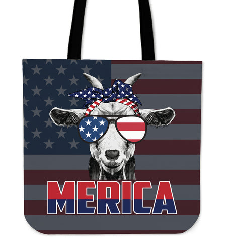 Patriot Goat america - tote bag