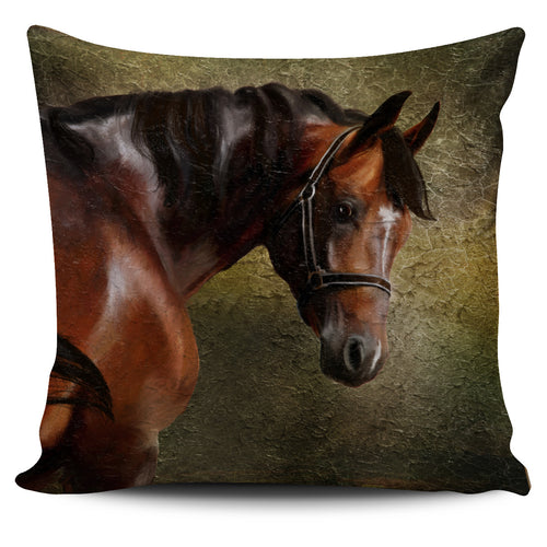 Chestnut Horse Pillow Cover