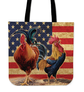 Chicken painting-13-tote bag