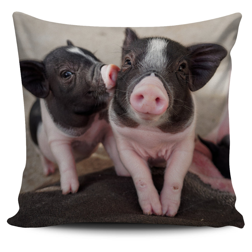 Printed Pig -02-pillow case