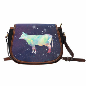 cow galaxy - Saddle bag - Barnsmile.com-Barnsmile.com-shirt, tees, clothings, accessories, shoes, home decor