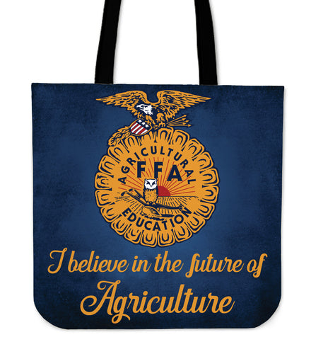 Totebag cow - I believe in the future of Agriculture