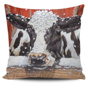 Pillow Cover - cow painting style 16