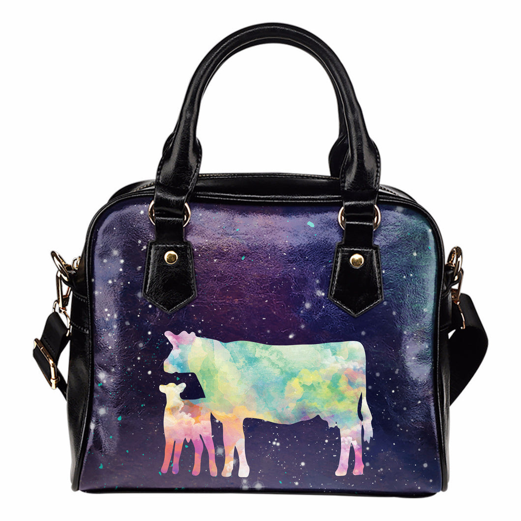 Cow galaxy - handbag