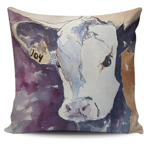 Pillow Cover - cow painting style 08