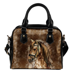Horse Lovers Leather Handbag