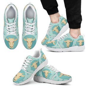 Athletic sneaker cow 02