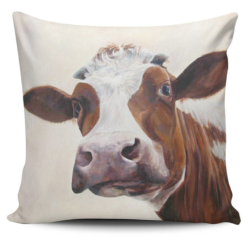 Pillow Cover - cow painting style 5