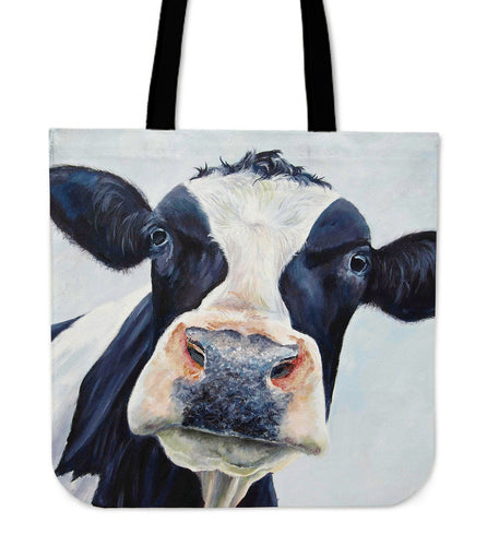 Tote Bag -  Cow painting style 07