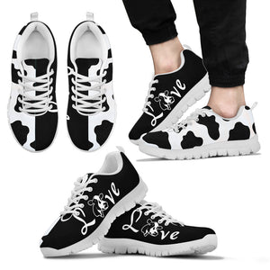 Dairy Cows men's Sneakers